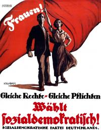 SPD-Plakat von 1919
