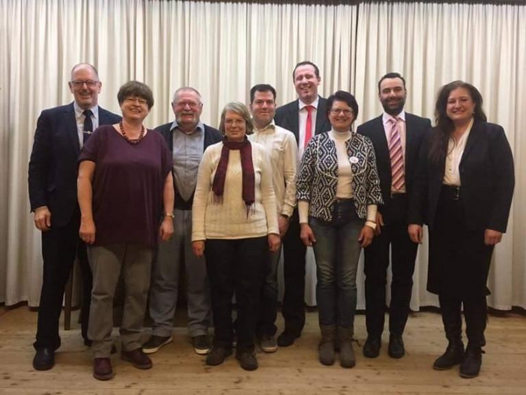 Vorstandschaft SPD OV Zirndorf